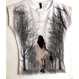 """Marškinėliai """"SILHOUETTE"""""""