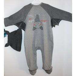 """Helovino kostiumėlis """"ŠIKŠNOSPARNIS"""". Dydžiai 74-80"""