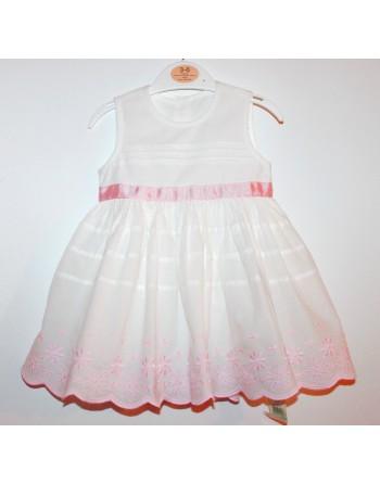 """Baltos suknelės """"MEDUTĖ"""". Dydžiai 62-68"""