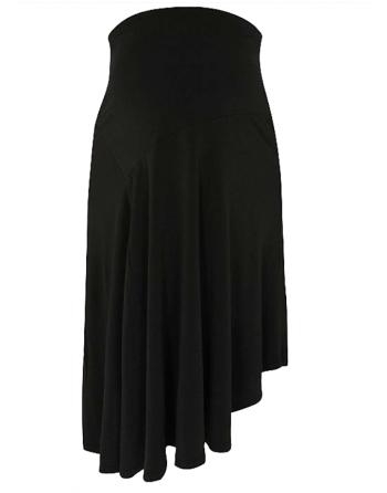Asimetriški juodi sijonai nėštukėms ir ne tik. Dydžiai M-XXL
