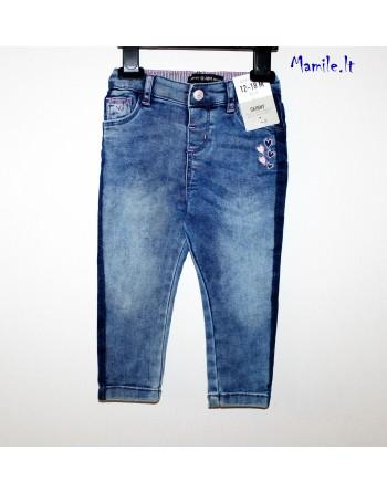 Skinny džinsai mergaitėms. Dydžiai 80-86