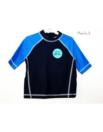 Maudymosi marškinėliai +50 UPF.  Dydžiai 86-92