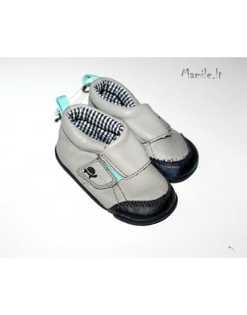 Odiniai tapukai-batukai su nedideliu defektuku. 6-12 mėn. kūdikiams