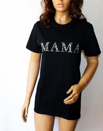 """Marškinėliai """"MAMA"""". Dydžiai S"""