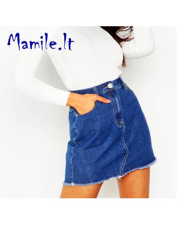 """Trumpi džinsiniai sijonai """"BLUE DAISY"""". Dydžiai L"""