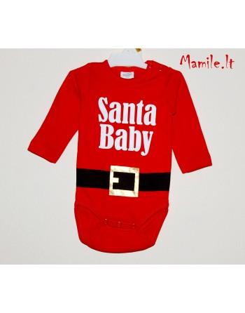 """Kalėdiniai smėlinukai """"SANTA BABY"""". Dydžiai 62"""
