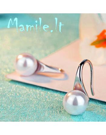 "Elegantiški perlų auskariukai ""ELEGANT"""