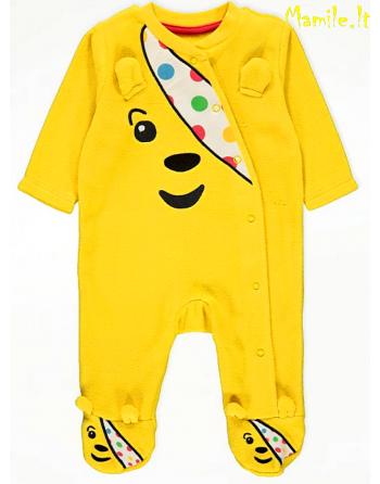 "Minkšti, šilti šliaužtinukai-pižamos ""TEDDY BEAR"". Dydžiai 80-86"