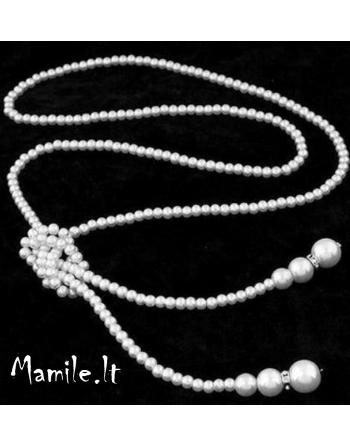 """Ilgi surišami perlų karoliai """"KERIJA"""""""
