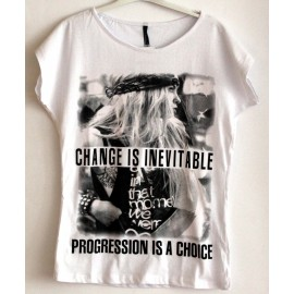 "Marškinėliai ""INEVITABLE CHANGE"""