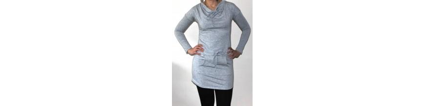 Stilingos suknelės-tunikos jaunimui, panelėms, moterims