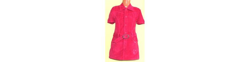 Stilingos, puošnios tunikos, suknelės, sarafanai mergaitėms iki 11 metų