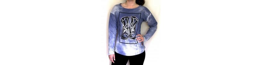 Džemperiai, bliuzonai, megztiniai merginoms/moterims