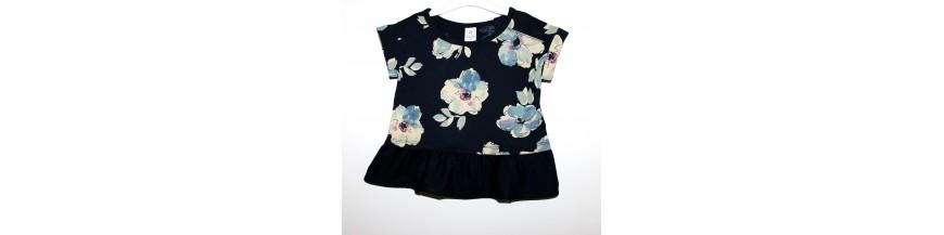 Palaidinės ir marškinėliai 1-6 metų mergaitėms