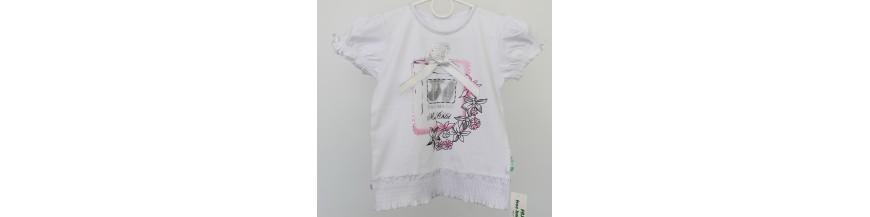 Palaidinės ir marškinėliai 6 -11 metų mergaitėms